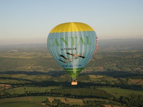 Montgolfiere Cantal Avergne